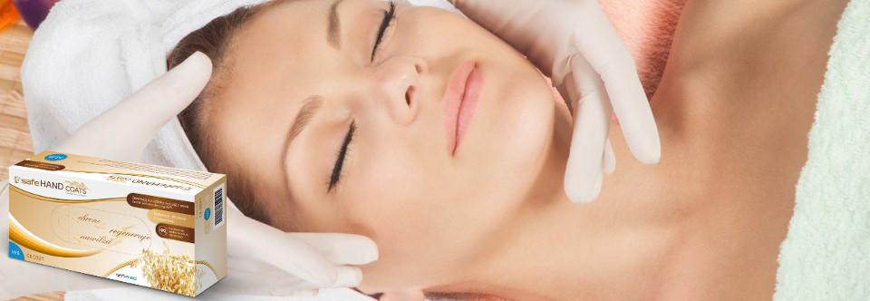 Rękawice dla sektora kosmetycznego